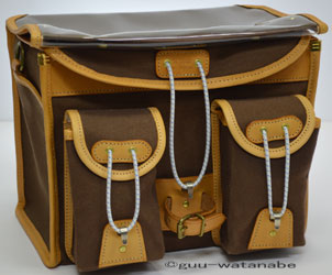 Handlebar bag brown