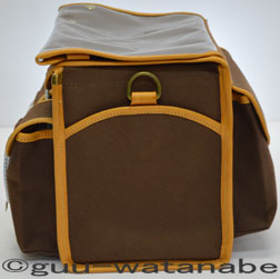 Handlebar bag brown side view